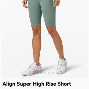 """Lululemon Align SHR Short 10"""""""